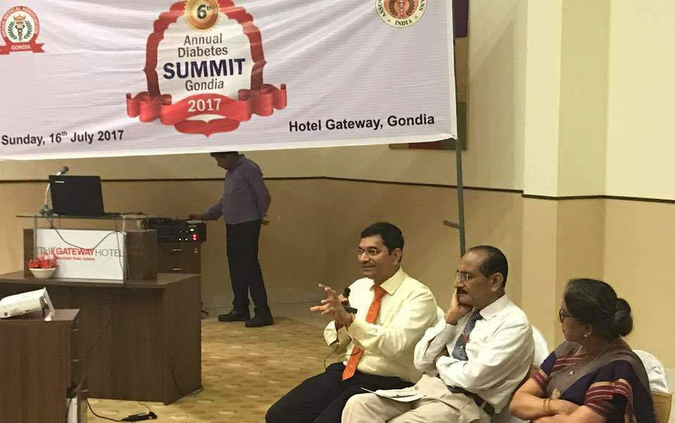 Annual Diabetes Summit Gondia 2017