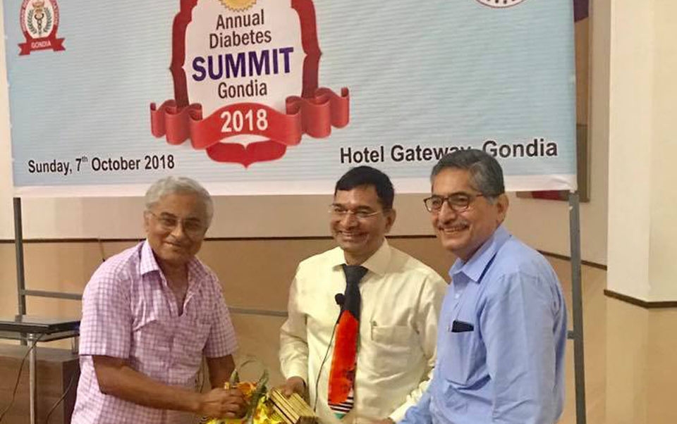 Annual Diabetes Summit Gondia 2018