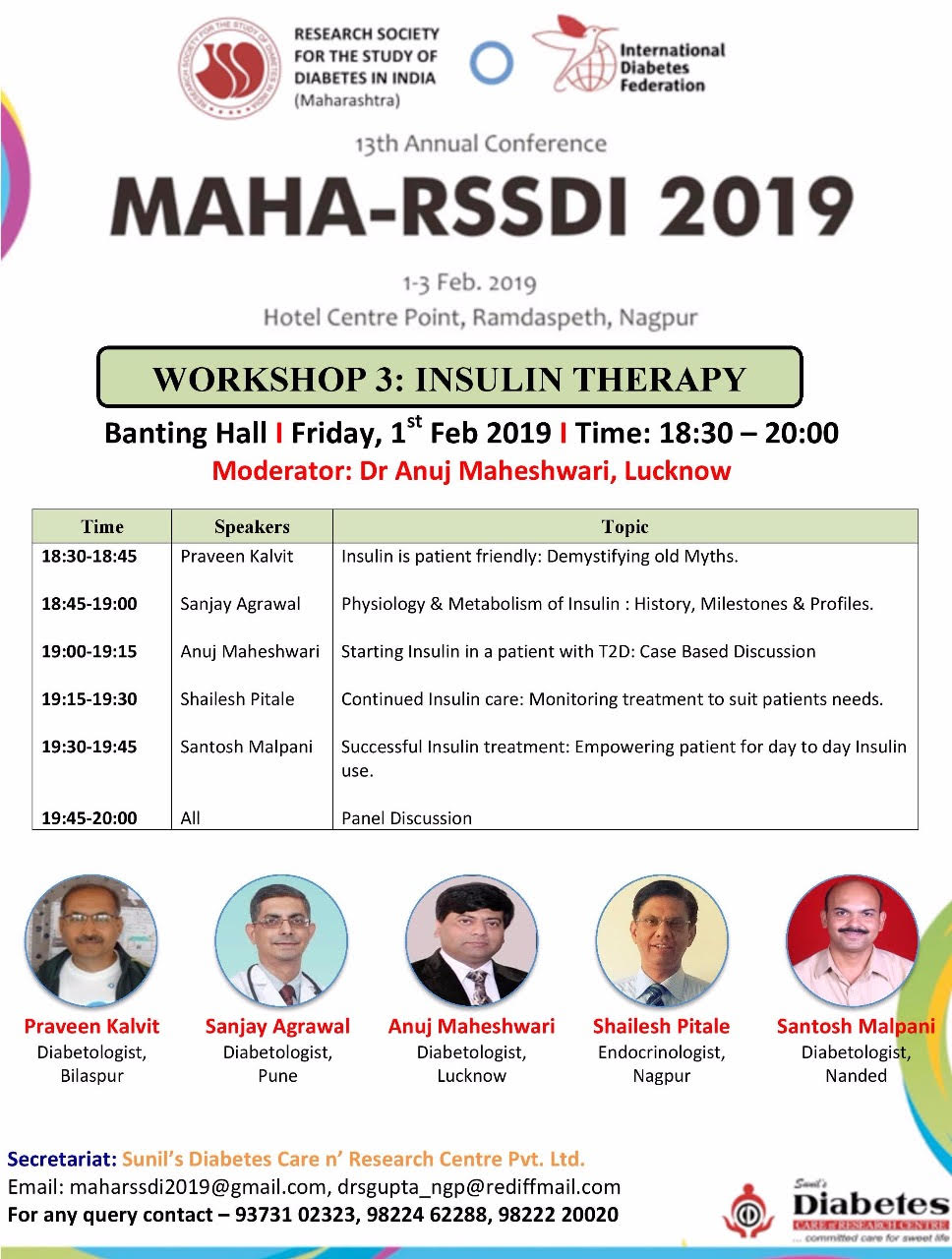 MAHA RSSDI Insulin Therapy