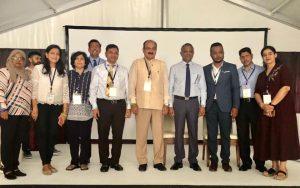 International Meeting at Maldives