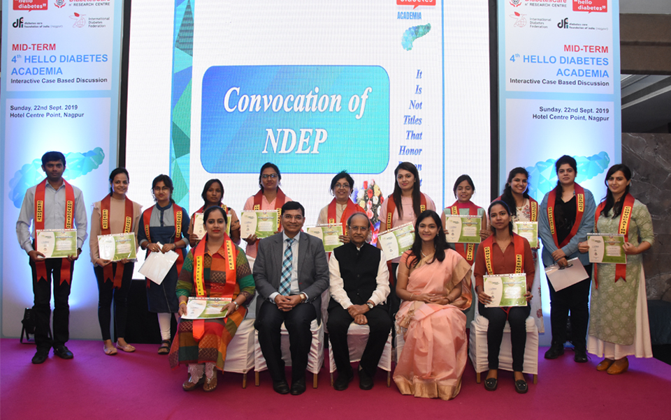 NDEP 8th Batch Convocation