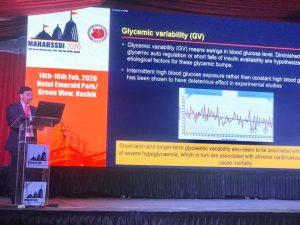 """Sunil Gupta Delivered a talk on """"Newer Gliptins """""""